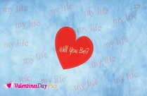 Will You Be My Love Message