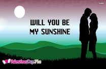 Will You Be My Sunshine Image