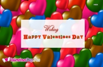 Wishing Happy Valentines Day