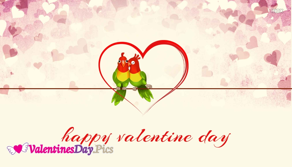 Valentines Day Cards With Birds
