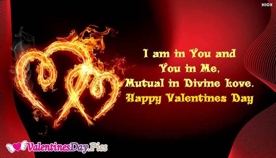 Happy Valentines Day Twin Flame Wallpaper