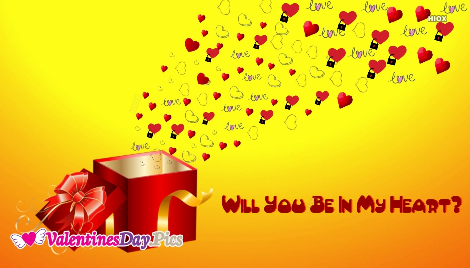 Will You Be In My Heart