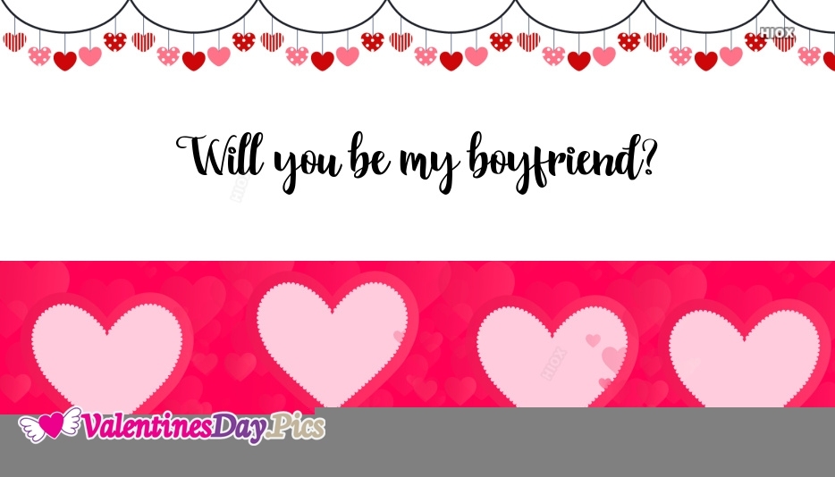 Will You Be My Boyfriend