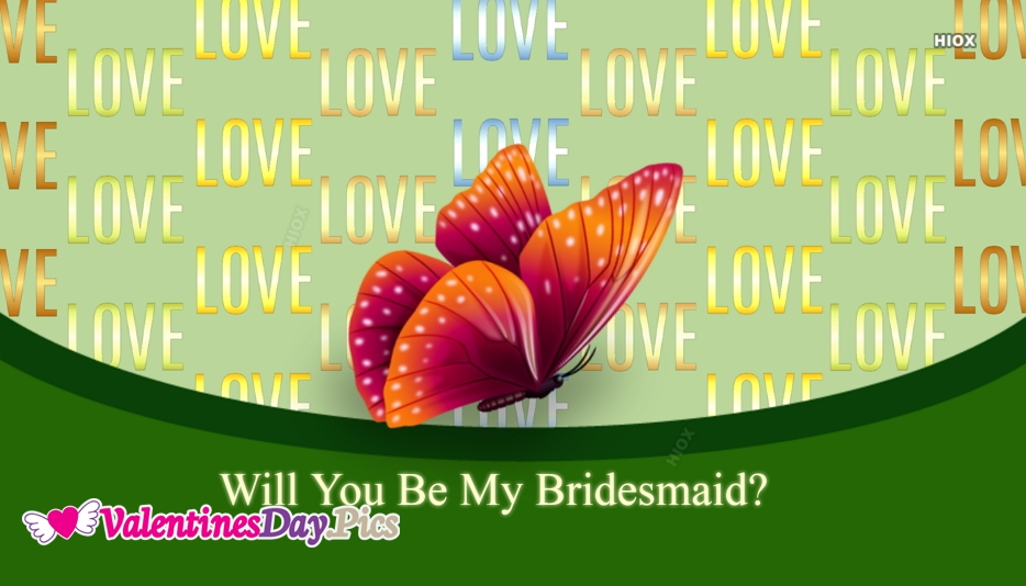 Will You Be My Bridesmaid Ecard