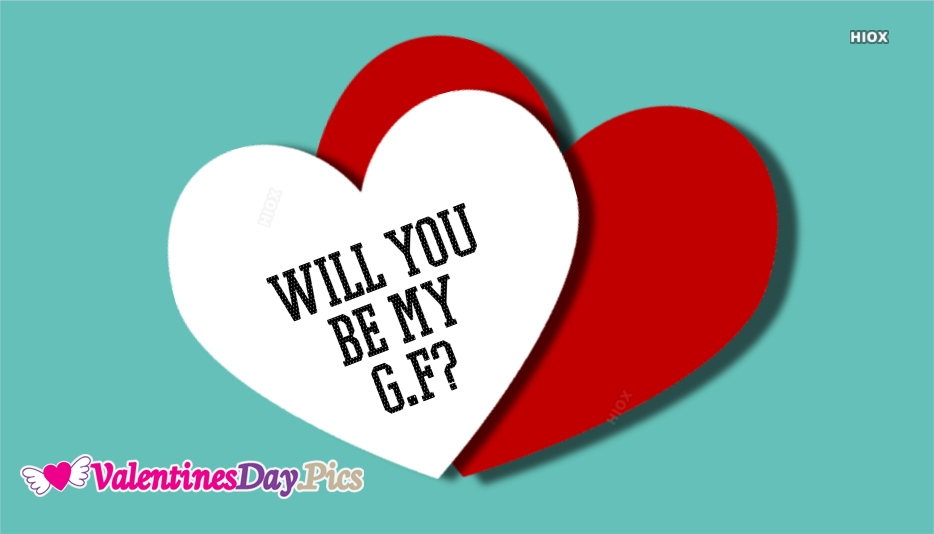 Will You Be My G.f