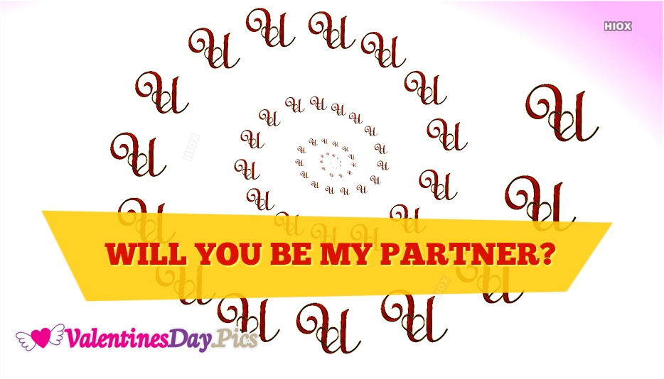 Will You Be My Partner